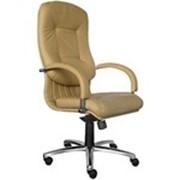 Кожаные кресла Apollo steel chrome SP фото