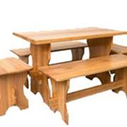 Мебель из натурального дерева фото
