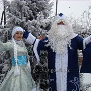 Дед мороз и снегурочка в Алматы фото