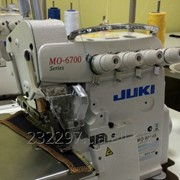 Четырехниточный двухигольный оверлок Juki MO-6714S-BE6-40H фото