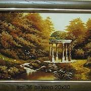 Пейзаж из янтаря 36 фото