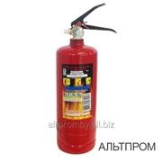 Огнетушитель ОП-1 (з) АВСЕ фото