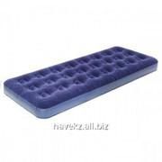 Односпальный надувной матрас Bestway 67000 - 185 Х 76 Х 22 См, синий фото