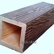 Деревянные фальш колоны 15х15 см фото