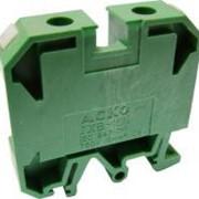 Клеммник JXB 35/35 зеленый фото