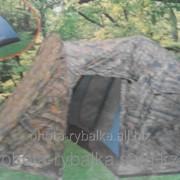 Палатка с тамбуром 5-ти местная фото