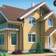 Проект деревянного дома 11-39 фото