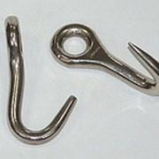 Крючок ветеринарный акушерский глазной острый фото