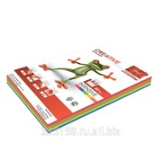 Бумага Creative color (Креатив), А4, 80 г/м2, 250 л. (5 цв.х50 л.), цветная интенсив, БИpr-250r фото