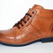 Ботинки мужские кожаные DENVIS 0337033 фото
