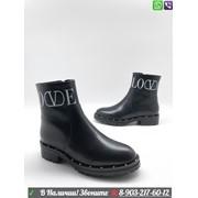 Ботинки Valentino VLTN черные фото