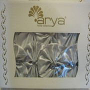 Скатерть серебро на стол-книгу с 8 салфетками фото