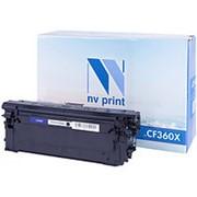 Картридж NV Print CF360X для HP фото