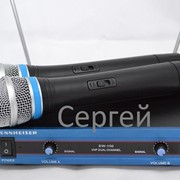 Радиомикрофон Sennheiser EW-100 + 2 микрофона. фото