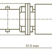 Розетка приборно-кабельная СР-50-1 ПВ, СР-50-1 ФВ ВР0.364.008 ТУ фото