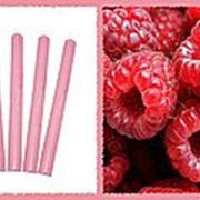 Свеча восковая №40 розовая с ароматом малины фото