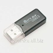 Картридер MicroSD-USB2.0 CR001 фото