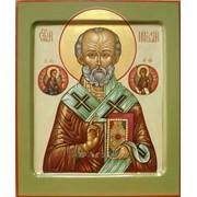 Икона св. Николай Чудотворец фото