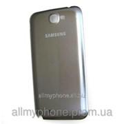 Задняя панель корпуса для мобильного телефона Samsung N7100 Note 2 gray фото