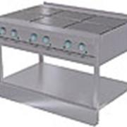 Шестиконфорочная плита ЭПЧ-9-6-17 без жарочного шкафа фото