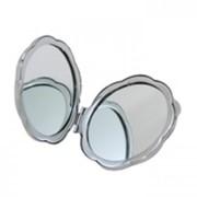 Зеркальце металлическое, круглое фото