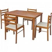 Комплект 303 стол+4 стула фото