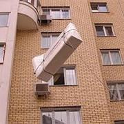 Подъем и спуск негабаритных грузов, Киев фото