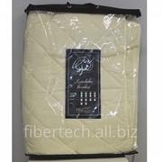 Наматрацник стёганый, плотность 150 г/м2, наполнитель хлопковое волокно, ткань 100% хлопок фото