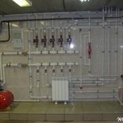 Монтаж отопительных систем в Казахстане фото
