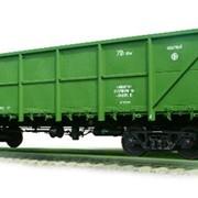 Перевозка грузов жд транспортом, тип вагонов - полувагон/окатышевоз фото
