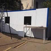 Изготовление строительных бытовок фото