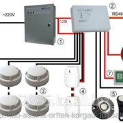 Предоставление услуг по монтажу и наладке систем пожарной сигнализации фото