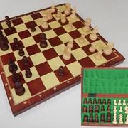 """Шахмати """"Турнирные"""" 34,5*34,5см, деревянные фигуры фото"""