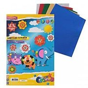 Цветная бумага металлизированная А4 deVente 5л., 5 цв., 80 г./м2 8040504 фото