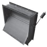 Клапан обратный прямоугольный КОП 500hx500 ш-оц фото