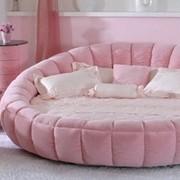 Изготовление круглых кроватей на заказ фото