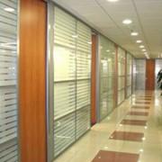 Офисные алюминиевые перегородки фото