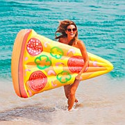 Надувной матрас пицца 185см*130см фото