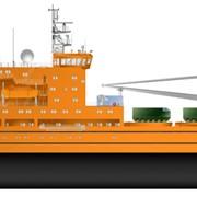 Научно-исследовательское судно. Проект 22280 фото