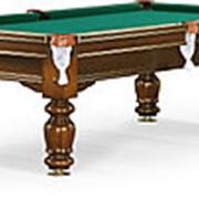 Бильярдный стол для русского бильярда Classic II 9ф (орех) фото