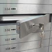 Индивидуальный банковский сейф фото