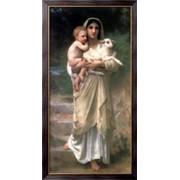 Картина Пастушка, Бугро, Адольф Вильям фото