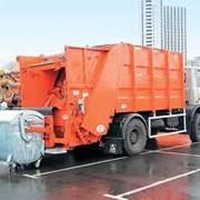 Вывоз и переработка бытового мусора фото