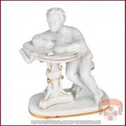 Фарфоровая статуэтка Пушкин фото