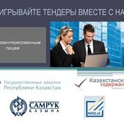 Подготовка тендерной документации, участие в закупках Казахстана фото