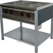Плита електрична промислова АРМ-ЕКО ПЕ-4, енергозберігаюча, полімерне покриття фото