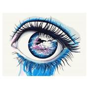 """Картина по номерам """"Небесный взгляд"""" размер 30x40 (арт. ME1094) фото"""