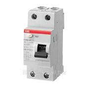 Дифференциальный автомат УЗО ABB 2P 25A 30mA FH202 AC-25/0.03 фото