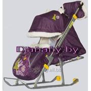 Санки-коляска Ника детям 6 фото