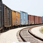 Железнодорожные контейнерные перевозки грузов фото